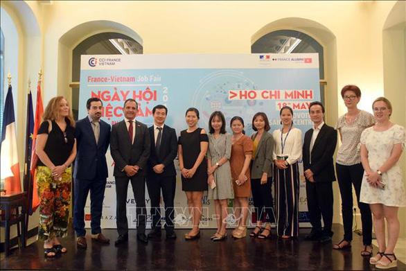 Trên 40 doanh nghiệp Pháp và Việt Nam sẽ tham gia Ngày hội việc làm Pháp - Việt 2019 - Ảnh 1.