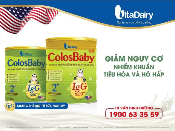 """IgG tự nhiên từ sữa non: """"Áo giáp"""" cho sức khỏe của trẻ - Ảnh 3."""