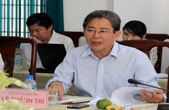 Phó chủ tịch tỉnh Sóc Trăng Lê Thành Trí xin nghỉ hưu sớm - Ảnh 2.