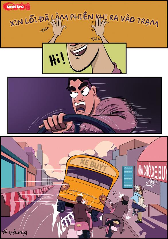 Văn hóa giao thông qua tranh biếm họa - Ảnh 18.