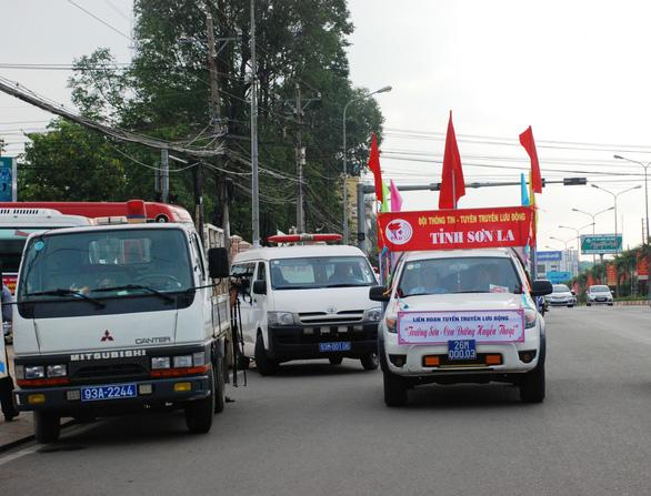 Tuyên truyền lưu động toàn quốc Trường Sơn - Con đường huyền thoại - Ảnh 3.