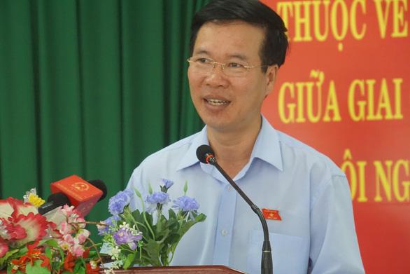 Ông Võ Văn Thưởng: Tăng giá điện vào tháng nắng nóng là không nên - Ảnh 1.