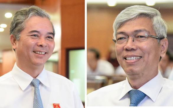 Ông Võ Văn Hoan và ông Ngô Minh Châu làm phó chủ tịch UBND TP.HCM - Ảnh 2.