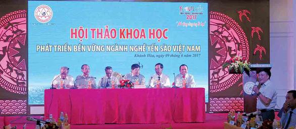 """Hội thảo khoa học """"Phát triển bền vững nghề nuôi chim yến tại Việt Nam"""" - Ảnh 1."""