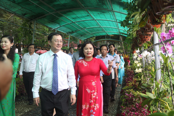 Ra mắt vườn học tập đại học xanh đầu tiên ở TP.HCM - Ảnh 1.