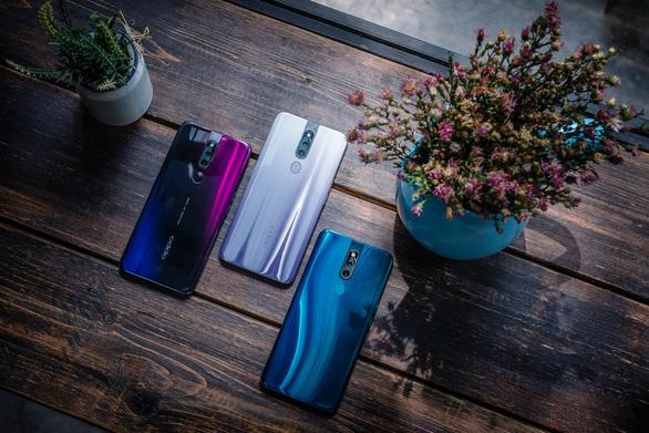 OPPO F11 Pro giới thiệu sắc màu mới Xám Tinh Vân - Ảnh 1.