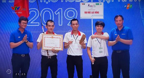 Đại học Lạc Hồng vô địch Robocon Việt Nam 2019 - Ảnh 1.