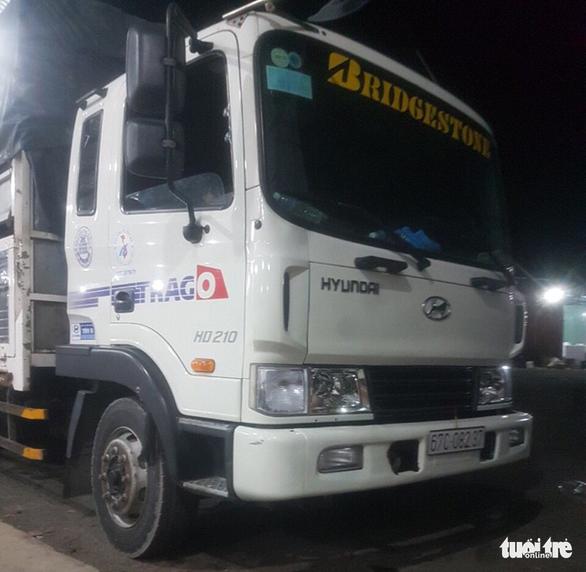 Chủ nhà xe báo bị mất trộm ôtô tải hơn 1 tỉ đồng - Ảnh 2.