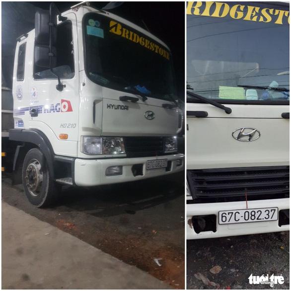 Chủ nhà xe báo bị mất trộm ôtô tải hơn 1 tỉ đồng - Ảnh 1.