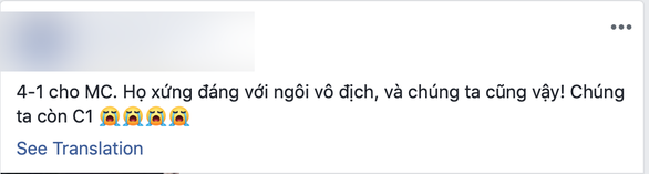 CĐV Việt Nam chúc mừng MC, tiếc cho Liverpool - Ảnh 3.