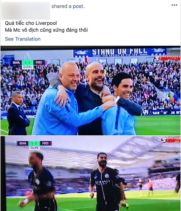 CĐV Việt Nam chúc mừng MC, tiếc cho Liverpool - Ảnh 2.
