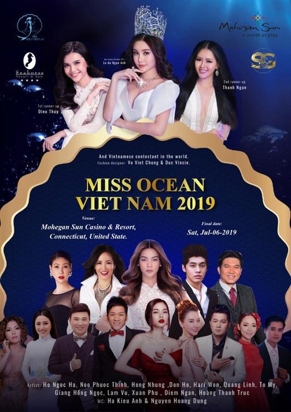 Ì xèo chưa rơi vào quên lãng, Hoa hậu Đại dương Việt bơi qua Mỹ - Ảnh 4.