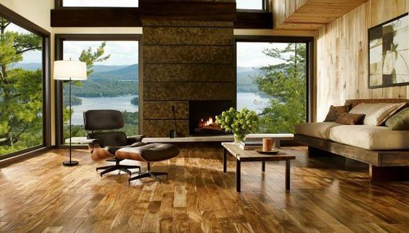 Lựa chọn sàn gỗ trong nhà ở sao cho đúng? - Ảnh 1.