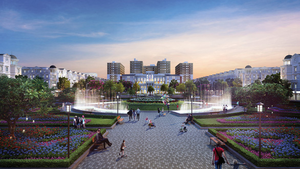 Gò Vấp sắp có công viên quảng trường rộng 2ha - Ảnh 1.