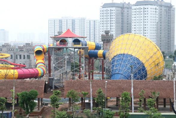 Sắp khai trương Công viên nước Thanh Hà lớn nhất Hà Nội - Ảnh 4.