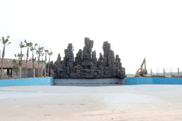 Sắp khai trương Công viên nước Thanh Hà lớn nhất Hà Nội - Ảnh 3.