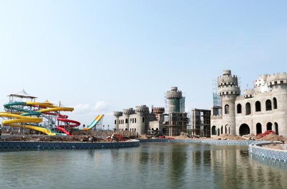 Sắp khai trương Công viên nước Thanh Hà lớn nhất Hà Nội - Ảnh 1.