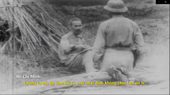 Lần đầu công chiếu những thước phim quý của Pháp về Chủ tịch Hồ Chí Minh - Ảnh 4.