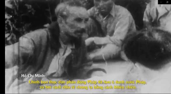 Lần đầu công chiếu những thước phim quý của Pháp về Chủ tịch Hồ Chí Minh - Ảnh 3.