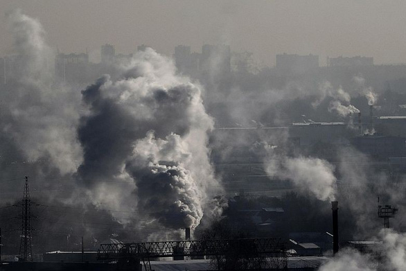Mật độ cacbon dioxide trong không khí cao chưa từng thấy - Ảnh 1.