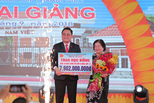 Tập đoàn Giáo dục Quốc tế Nam Việt phát triển vững mạnh với 6 cơ sở - Ảnh 2.
