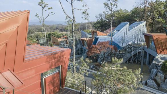 Kiến trúc lạ mắt của khu nhà ở đầy màu sắc tại Hàn Quốc - Ảnh 12.