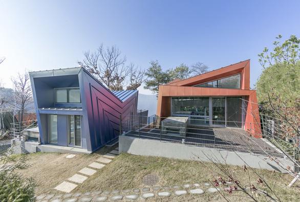 Kiến trúc lạ mắt của khu nhà ở đầy màu sắc tại Hàn Quốc - Ảnh 3.