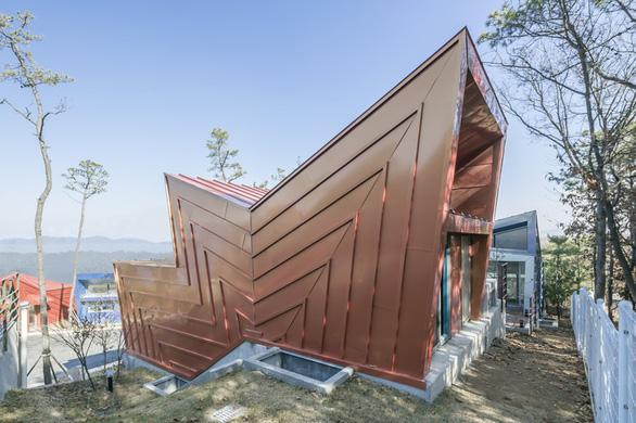 Kiến trúc lạ mắt của khu nhà ở đầy màu sắc tại Hàn Quốc - Ảnh 4.