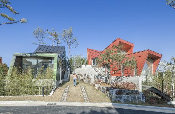 Kiến trúc lạ mắt của khu nhà ở đầy màu sắc tại Hàn Quốc - Ảnh 6.