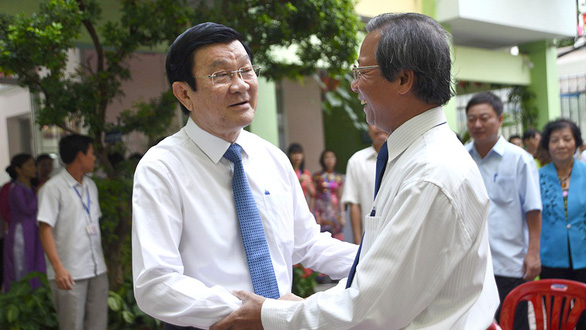 Nguyên Chủ tịch nước Trương Tấn Sang: Tìm chọn hiền tài - Ảnh 1.