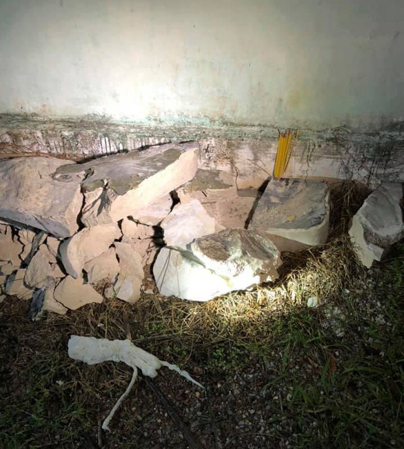 Bất ngờ vụ án mạng trong thùng nhựa đổ bê tông: có tới 2 thi thể - Ảnh 1.
