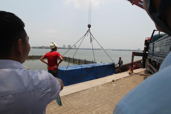 Làm sạch sông Tô Lịch bằng công nghệ Nhật Bản - Ảnh 6.