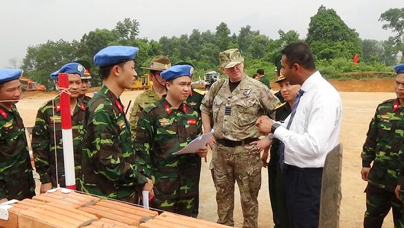 Công binh Việt Nam với nhiệm vụ gìn giữ hòa bình - Ảnh 1.
