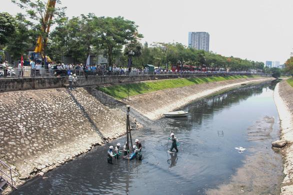 Làm sạch sông Tô Lịch bằng công nghệ Nhật Bản - Ảnh 5.