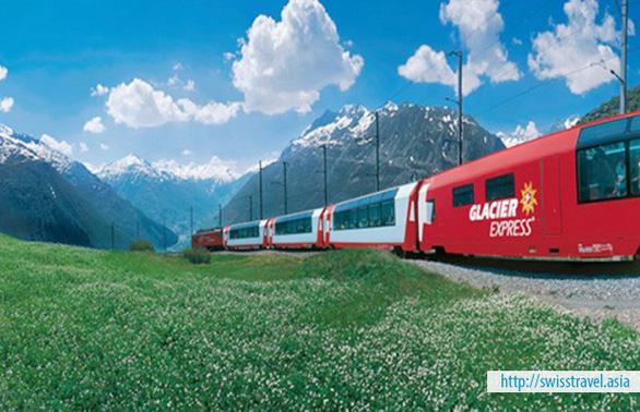 Khám phá Thụy Sĩ trên chuyến tàu Glacier Express - Ảnh 1.