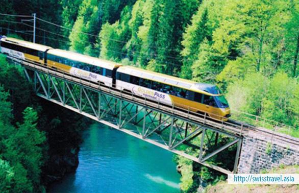 Thụy Sĩ - những tuyến đường sắt đẹp nhất thế giới  - Ảnh 1.
