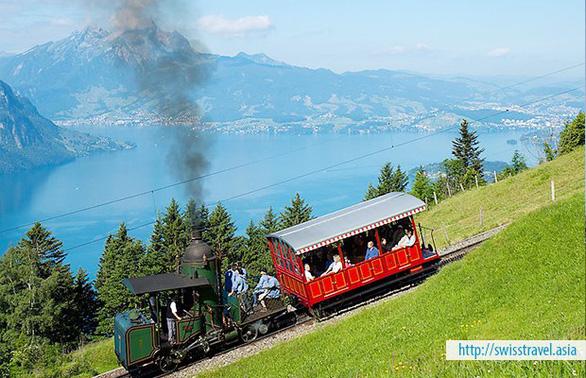 Khám phá Thụy Sĩ trên chuyến tàu Glacier Express - Ảnh 3.
