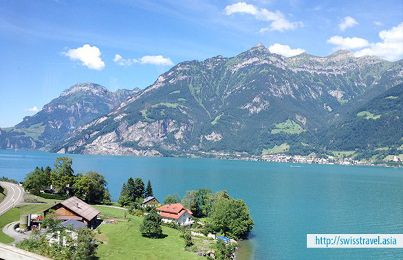 Khám phá Thụy Sĩ trên chuyến tàu Glacier Express - Ảnh 4.