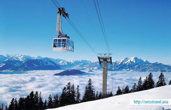 Khám phá Thụy Sĩ trên chuyến tàu Glacier Express - Ảnh 6.