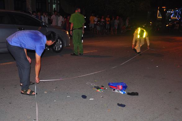 Tài xế say xỉn lái ôtô tông chết học trò lớp 3 - Ảnh 1.