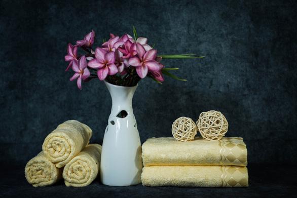 3 loại khăn bông được ưa chuộng trong mùa hè - Ảnh 2.