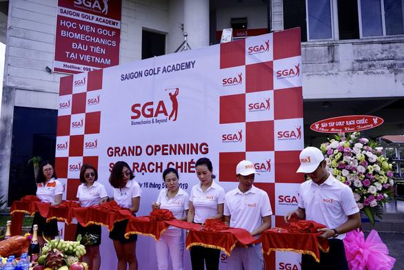 SGA khai trương Học viện Golf Biomechanics thứ hai - Ảnh 1.