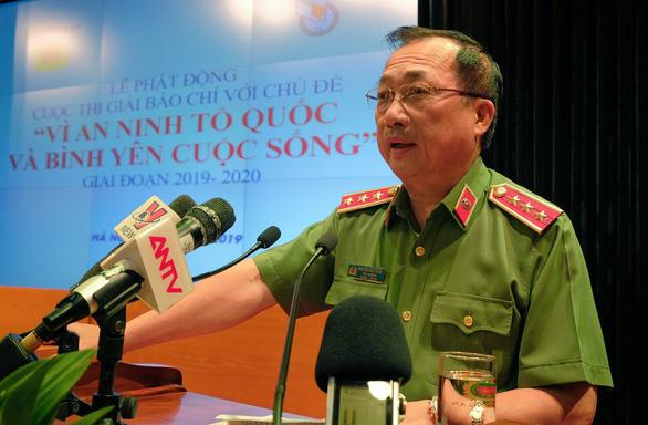 Bộ Công an phát động giải báo chí Vì an ninh Tổ quốc và bình yên cuộc sống - Ảnh 1.