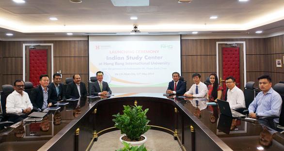 Đại học Quốc tế Hồng Bàng ra mắt Trung tâm nghiên cứu Ấn Độ - Ảnh 1.