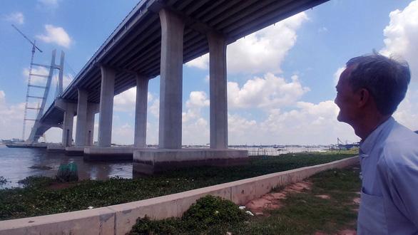 Vàm Cống - cây cầu ước mong chỉ còn chờ ngày khánh thành - Ảnh 2.