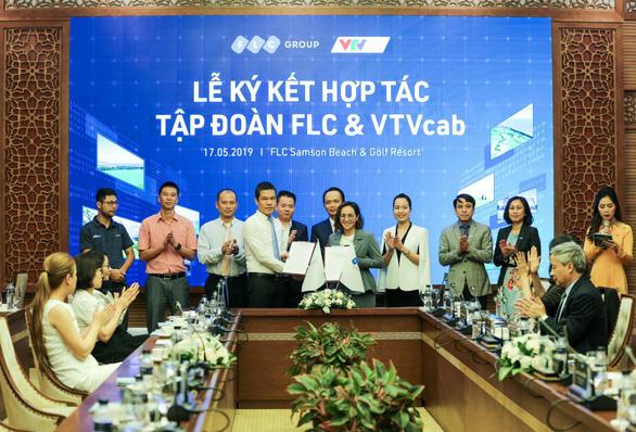 Tập đoàn FLC và VTVcab ký thỏa thuận hợp tác chiến lược - Ảnh 1.
