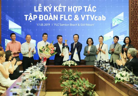 Tập đoàn FLC và VTVcab ký thỏa thuận hợp tác chiến lược - Ảnh 2.