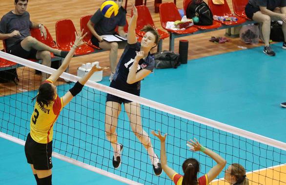 VTV Bình Điền Long An tranh HCĐ Giải bóng chuyền nữ quốc tế - Ảnh 1.