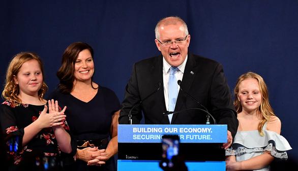 Bầu cử Úc: thắng lợi kỳ diệu cho Thủ tướng Scott Morrison - Ảnh 1.