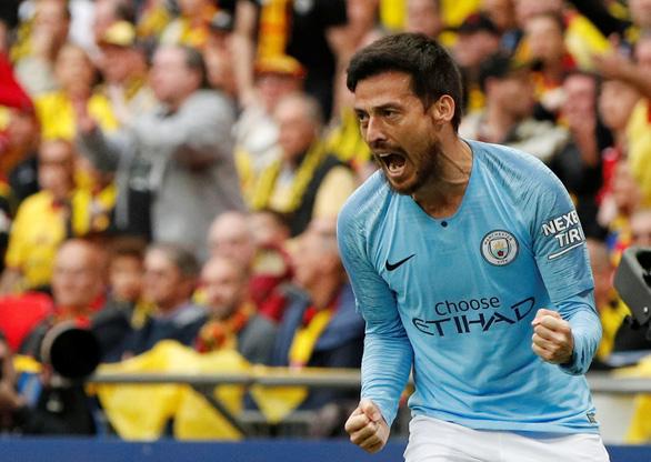 Đoạt Cúp FA, Man City hoàn tất cú ăn ba lịch sử - Ảnh 1.
